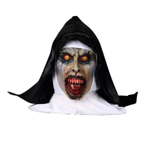 La nonne valak Masque Nouveau Cosplay les prestidigitateurs Effrayant Masque Halloween Horreur Accessoires
