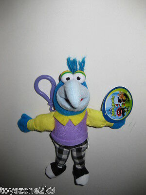 Muppets Gonzo plush keychain clip on backpack Nanco rare collectible