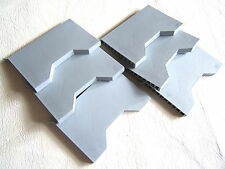 6x G950 MANTHORPE GREY CAVITY WALL WEEP/VENT-SLEEVE VENTILATOR 100x9x85mm 220mm²
