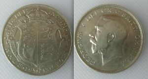 Collectable 1913 King George V Half-Crown Coin