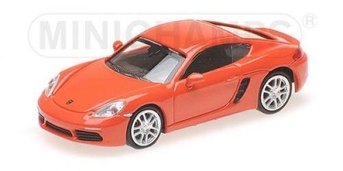 Minichamps 870065221 Porsche 718 cayman naranja 2016 ho 1:87 nuevo