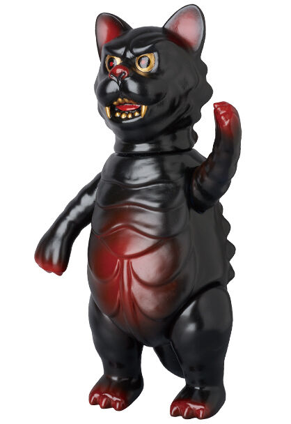 NYAGOTH the guardian angel of cats sofubi by Medicom Takehisa Kantoh (Lacquer)