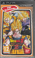 Dragon Ball Z Shin Budokai 2 Psp Brand Factory Sealed Fast Shipping.