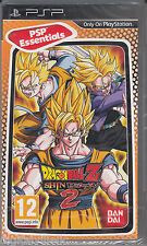 Dragon Ball Z Shin Budokai 2 PSP Brand New factory Sealed Fast Shipping.