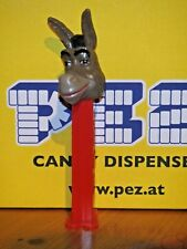 1 PEZ SPENDER-SHREK-DONKEY(ESEL)-RED STEM