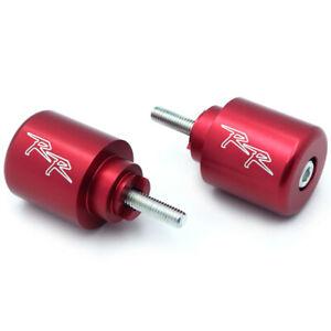 Bar Ends Red For 1997-2003 Honda CBR 1100 RR// 2003-2013 Honda CBR 600RR