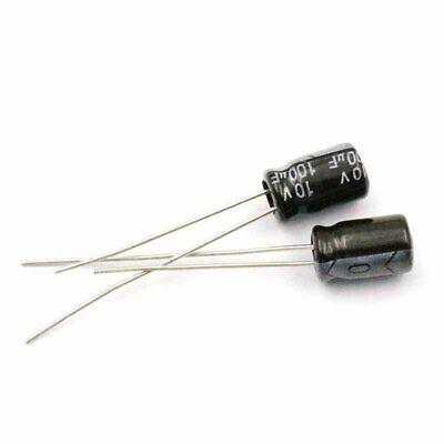 20PCS 33uF 10V 33MFD 10Volt Electrolytic Capacitor 4mm×7mm NEW