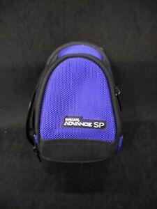 Blue Gameboy Advance SP Carrying Bag Official OEM NINTENDO Mini Backpack