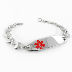 Myiddr Women S Pre Engraved Organ Donor Medical Alert Id