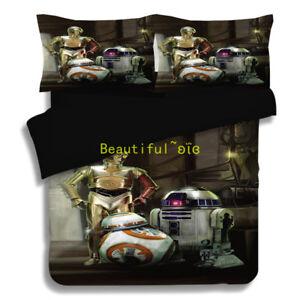 Star-Wars-Single-Double-Queen-King-Bed-Quilt-Doona-Duvet-Cover-Set-Stormtrooper
