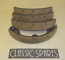 VAUXHALL WYVERN 12HP 1947-1957 RELINED REAR BRAKE SHOES SET OF 4 (C77AF)