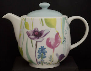 Image is loading PORTMEIRION-WATER-GARDEN-2-PINT-TEAPOT & PORTMEIRION WATER GARDEN 2 PINT TEAPOT | eBay