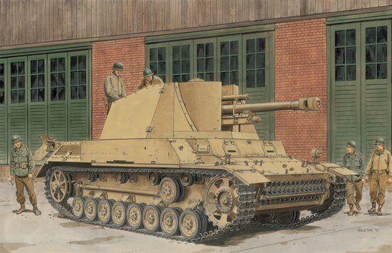 1 35 Dragon 6710 German WWII SP Gun leFH18 40 2 Model Kit