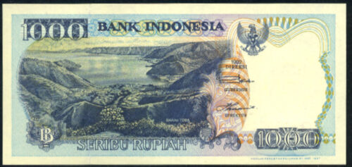 INDONESIA 1000  RUPIAH   1992 //1997    P 129f   Uncirculated Banknotes