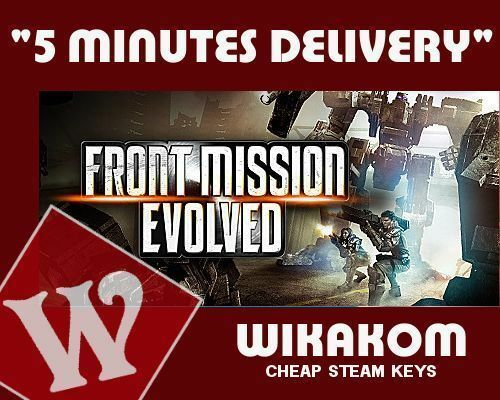Front Mission Evolved Steam Keys