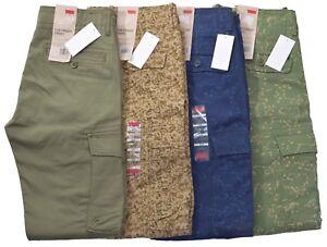 8a9ba80a Levis Men's $68 Slim Straight Fit Military Cargo Pants Choose Color ...