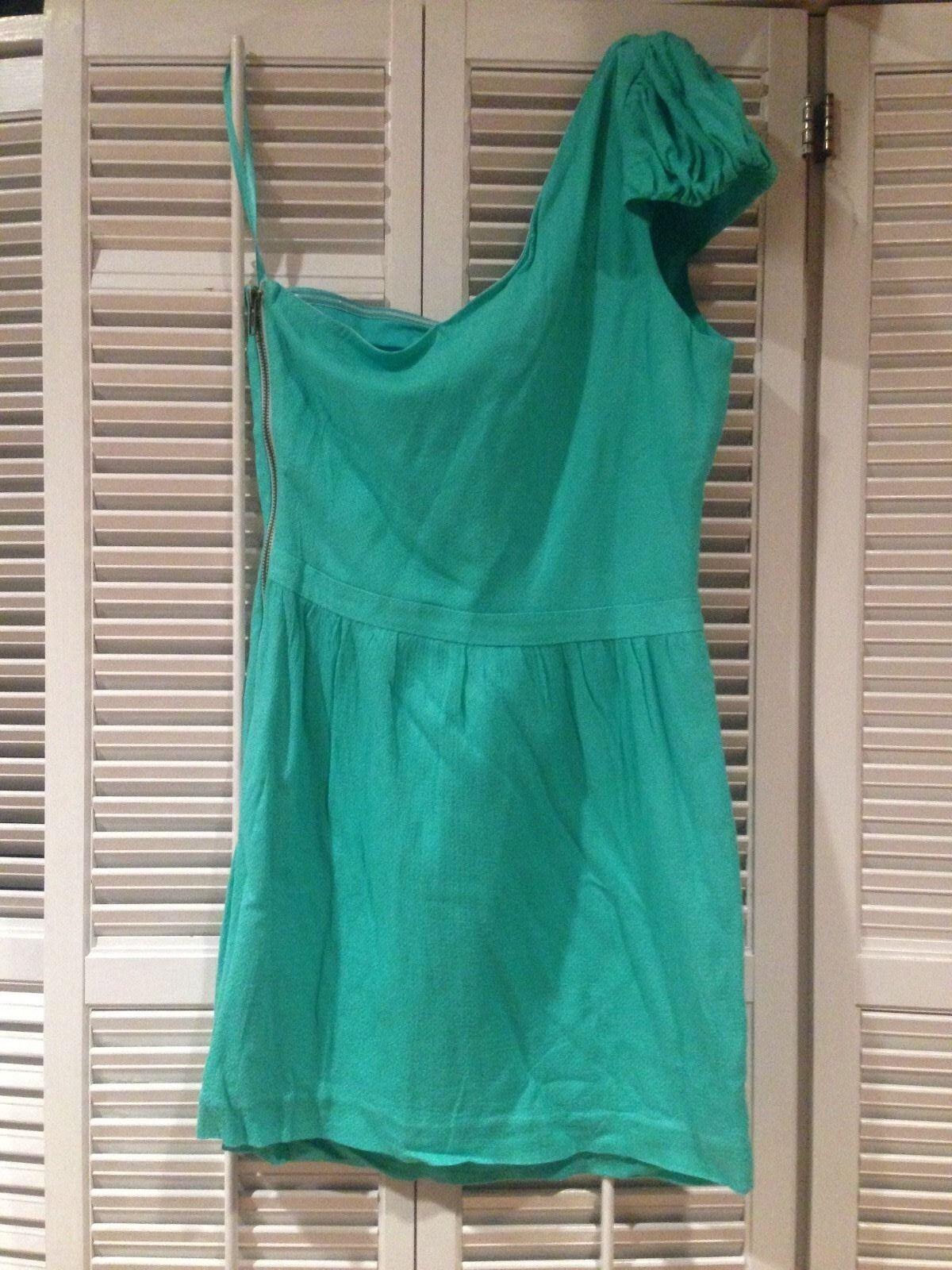 Isabel Lu mint green one shoulder dress - XS