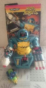 MICRO MACHINES - MICRO ROBOTS - ULTRABOT - GIG - VINTAGE - 1992 - Italia - MICRO MACHINES - MICRO ROBOTS - ULTRABOT - GIG - VINTAGE - 1992 - Italia