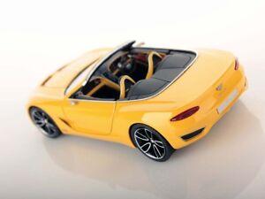 Bentley EXP 12 speed 6e Monace yellow Looksmart 1:43 no MR BBR !! NEW !! NEW !!
