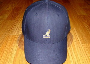 adb7f653b0f Image is loading Denim-Indigo-Kangol-Flexfit-Denim-Baseball-Cap