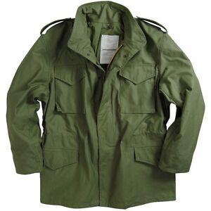 M65 Combat Jacket Field Coat USA Made Olive Drab Green Unworn SR Vietnam Style