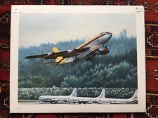 Aviation Art Print  Beautiful Pac NW Artist Robert Parks Art Print - Beautiful