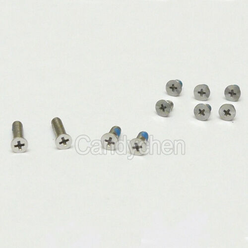 """Set of 10pcs Bottom Back Case Cover Screws For Apple MacBook Air 13"""" A1237 A1304"""