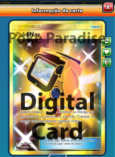 ptcgo Digital Card! PokeNav Shiny 181//168 Celestial Storm POKEMON TRADING CARD GAME EN LIGNE