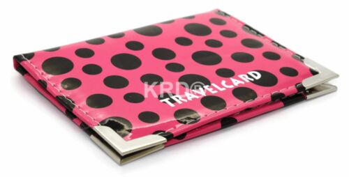 Polka Dot Travel Oyster Rail Card Bus Pass Holder Cover Wallet Buy 3 Get 1 Free