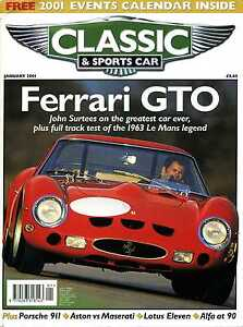 Image Is Loading Classic Amp Sport Car Jan 2001 Ferrari GTO