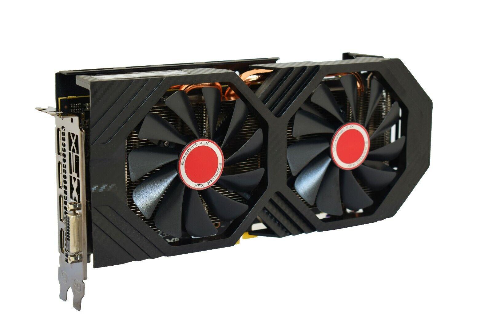 XFX RX 590 FATBOY Core Edition 8GB 1580MHz DDR5 Graphics Card RX-590P8DLD6 2