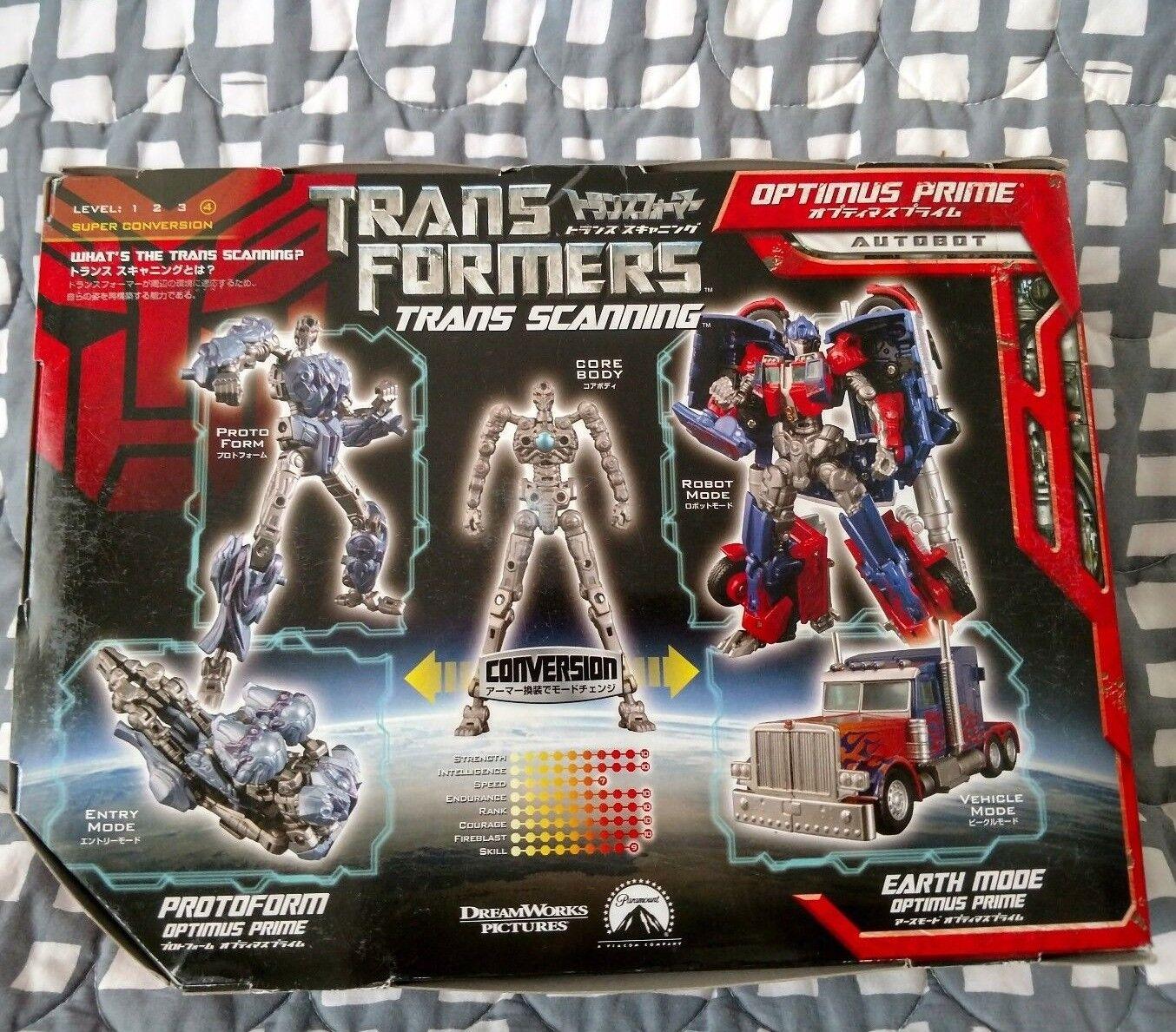 Takara Takara Takara TransFormers Protoform Trans Scanning Optimus Prime Movie MISB G1 aoe NEW 297db6