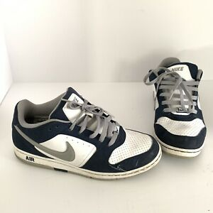 Details about Nike Air Force Size 8 PRESTIGE II 2 Navy Blue White 318973 107 Men's Shoes