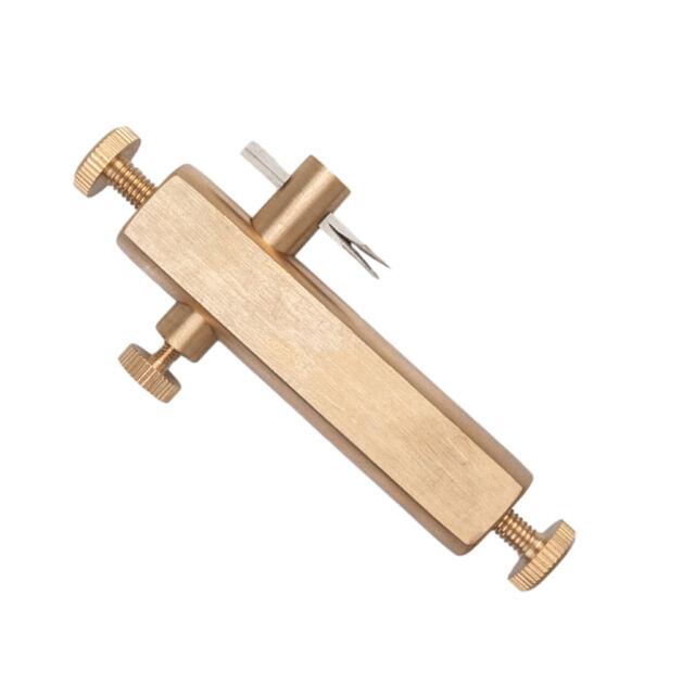 1x Gold Messing Purfling Groove Messer Luthier Werkzeug Geigenbau Zubehör