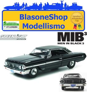 Modellino-Diecast-Ford-Galaxie-500-Man-in-Black-Film-Movie-Film-1-18-Greenligth