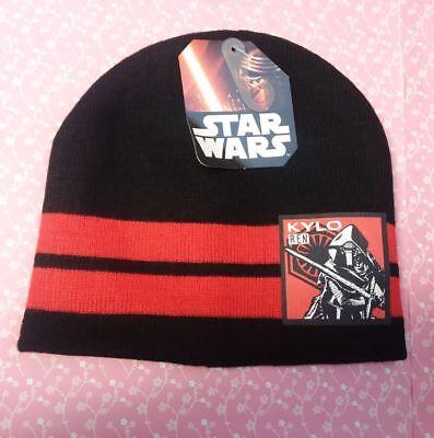 Disney/'s Star Wars Kylo Ren Youth One Size Black Hat NEW