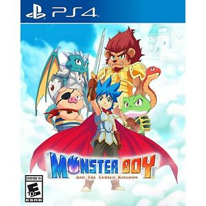 MONSTER BOY AND THE CURSED KINGDOM PS4 USA NEW