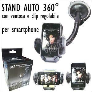 STAND-SUPPORTO-VENTOSA-SMARTPHONE-AUTO-PER-SONY-ERICSSON-XPERIA-S