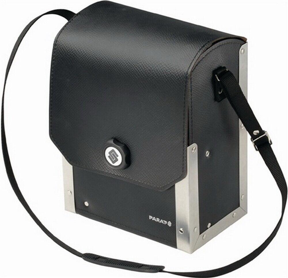 Werkzeugtasche 230x140x300mm Rindleder mit Mittelwand verstellbarer Trageriemen