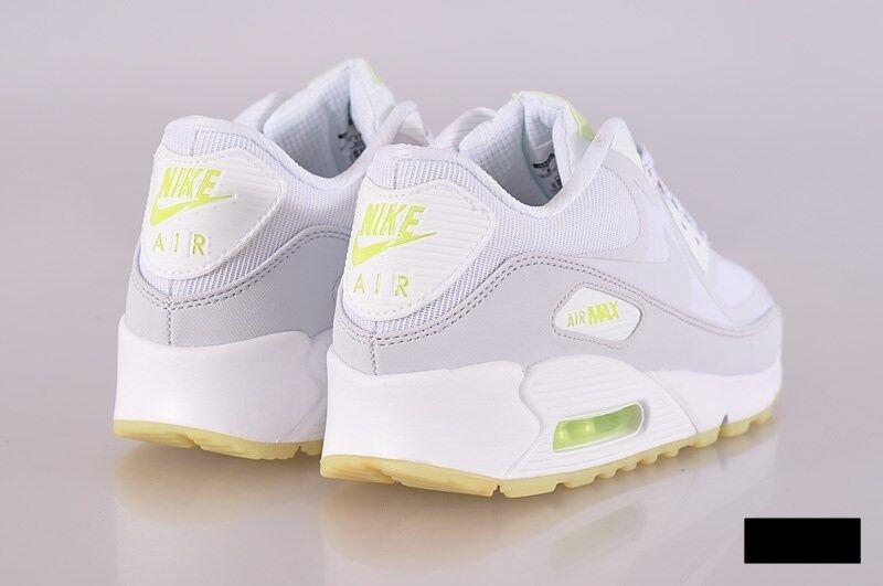 Nike Air Max 90 CMFT PRM TAPE TAPE TAPE Mens Sz 10 616317-103 GLOW IN THE DARK WHITE ae536d