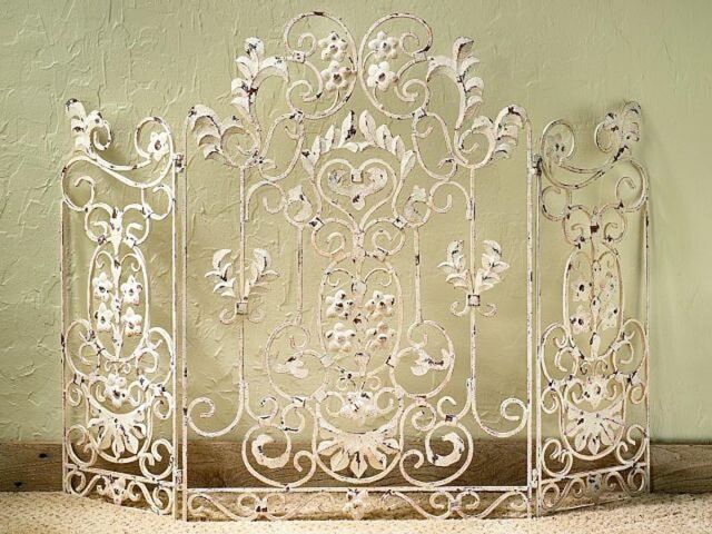 Fire Screen For Fireplace Decorative Antique Fireplace Screen Saver For Sale Online Ebay