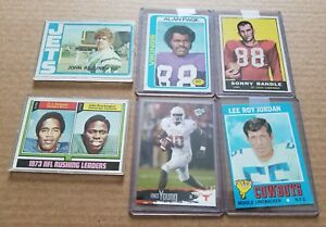 1961-to-2006-Topps-Press-Pass-OJ-Simpson-Sonny-Randle-Riggins-NFL-Football-Cards