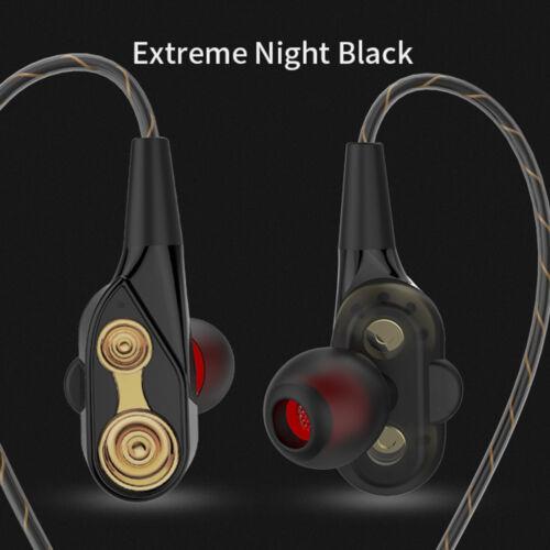 7D HIFI Dual Dynamaic Super Bass Stereo In-Ear Earphone Driver Headphone Headset