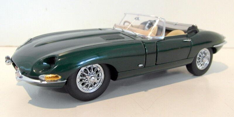 Franklin - mint - 1   24 skala druckguss - fmc15 1961 jaguar e-type roadster grün