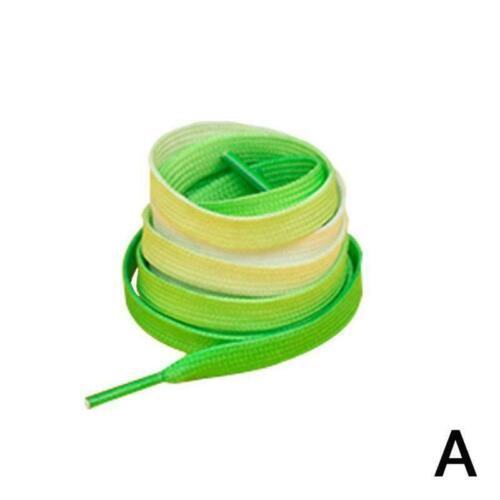Bunter flacher Süßigkeits-Farbverlauf der Farben ändert Schnürsenkel-Parte F7C1