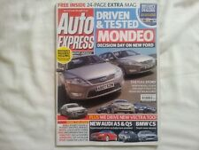 AUTO EXPRESS ROEWE ROVER 45 NEW MONDEO MINI COOPER DIESEL V FIAT 500 MIKE BREWER