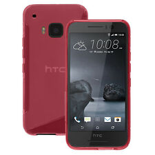 Cover Custodia TPU Silicone gel Motivo S ROSA per HTC One S9
