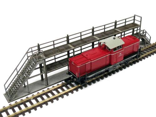 Modellbahn Union MU-H0-B00020 H0 Arbeitsbühne für Lokomotiven /& Waggons