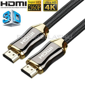 PREMIUM UltraHD HDMI Cable v2.0 0.5M/1M/1.5M/2M-10M High Speed 4K 2160p 3D Lead