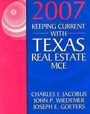 Keeping Current with Texas Real Estate MCE by Jacobus, Charles J.; Wiedemer, Jo